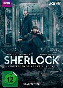 Sherlock Staffel 4, 2 DVDs