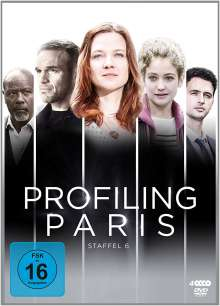 Profiling Paris Season 6, 4 DVDs