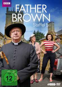 Father Brown Staffel 5, 4 DVDs