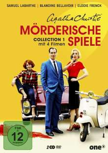 Agatha Christie: Mörderische Spiele Collection 1, 2 DVDs