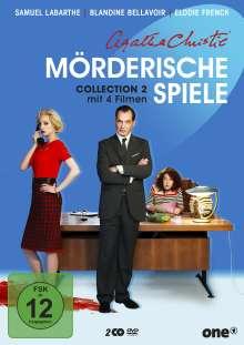 Agatha Christie: Mörderische Spiele Collection 2, 2 DVDs