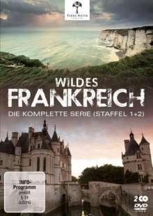 Wildes Frankreich (Komplette Serie), 2 DVDs
