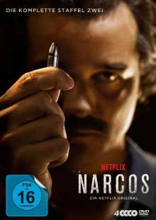 Narcos Staffel 2, 4 DVDs