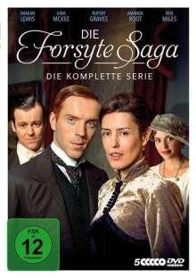 Die Forsyte Saga (Komplette Serie), 5 DVDs