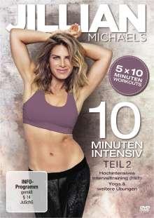 Jillian Michaels - 10 Minuten Intensiv Teil 2, DVD