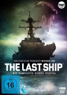 The Last Ship Staffel 4, 3 DVDs