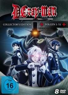 D.Gray-Man (Collectors Edition), 8 DVDs