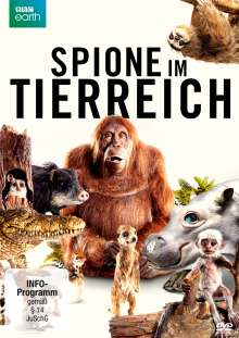 Spione im Tierreich, 2 DVDs