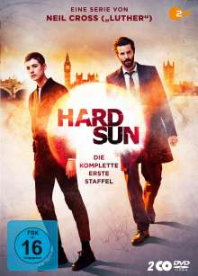 Hard Sun Staffel 1, 2 DVDs
