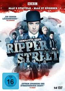 Ripper Street (Komplette Serie), 14 DVDs