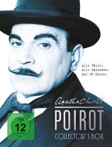 Agatha Christie's Hercule Poirot Collector's Box (Komplette Serie), 45 DVDs