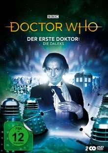 Doctor Who - Der Erste Doktor: Die Daleks (Mediabook), 2 DVDs