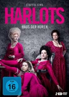 Harlots - Haus der Huren Staffel 1, 2 DVDs