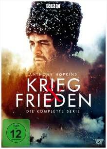 Krieg und Frieden (Komplette Serie), 6 DVDs