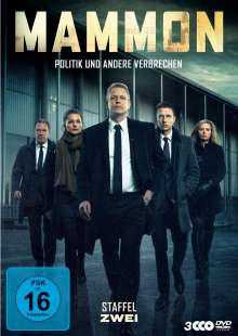 Mammon Staffel 2, 3 DVDs