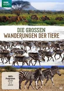 Die grossen Wanderungen der Tiere, DVD