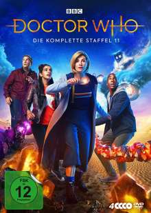 Doctor Who Staffel 11, 4 DVDs