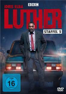 Luther Staffel 5, 2 DVDs