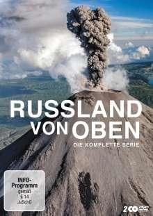 Russland von oben (Komplette Serie), 2 DVDs