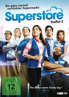 Superstore Staffel 2, 3 DVDs
