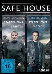 Safe House Staffel 1 & 2, 3 DVDs