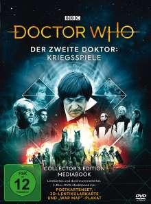 Doctor Who - Der Zweite Doktor: Kriegsspiele (Limited Edition im Mediabook), 3 DVDs