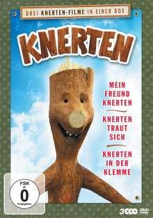 Knerten im Dreierpack (Mein Freund Knerten / Knerten traut sich / Knerten in der Klemme), 3 DVDs