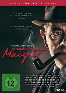 Kommissar Maigret (Komplette Serie), 2 DVDs
