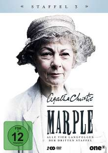 Agatha Christie: Marple Staffel 3, 2 DVDs