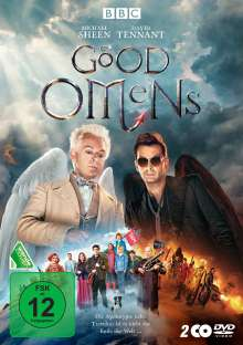 Good Omens Staffel 1, 2 DVDs