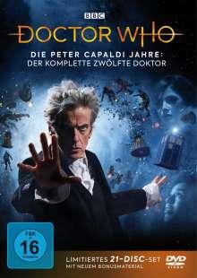 Doctor Who - Die Peter Capaldi Jahre: Der komplette 12. Doktor, 21 DVDs