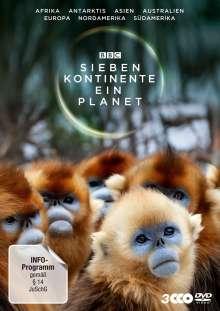 Sieben Kontinente - Ein Planet, 3 DVDs