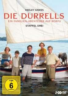 Die Durrells Staffel 3, 2 DVDs