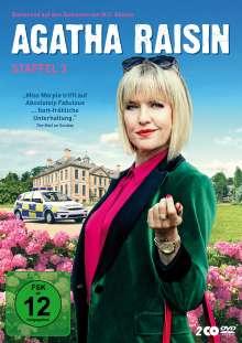 Agatha Raisin Staffel 3, 2 DVDs