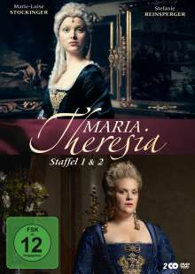 Maria Theresia Staffel 1 & 2, 2 DVDs