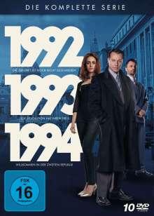 1992 - 1993 - 1994: Die Polit-Trilogie (Komplette Serie), 10 DVDs