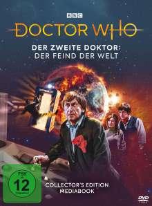 Doctor Who - Zweiter Doktor: Der Feind der Welt (Mediabook), 2 DVDs