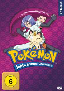 Pokémon Staffel 4: Die Johto Liga Champions, 7 DVDs