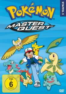Pokémon Staffel 5: Master Quest, 8 DVDs