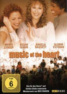 Music Of The Heart, DVD
