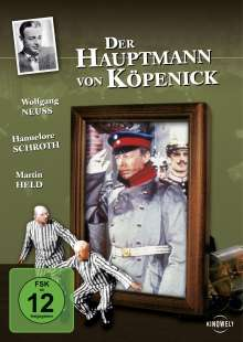 Der Hauptmann von Köpenick (1956), DVD