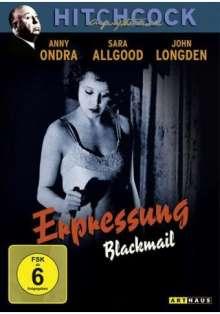 Erpressung (1929) (OmU), DVD