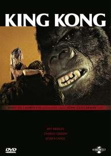 King Kong (1976), DVD