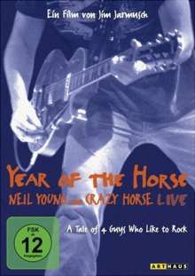 Year Of The Horse: Neil Young & Crazy Horse Live, DVD