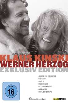 Klaus Kinski / Werner Herzog, 7 DVDs