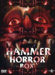Hammer Horror Box, 4 DVDs