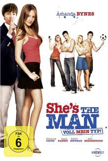 She's the Man - Voll mein Typ, DVD