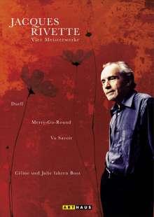 Jacques Rivette - Vier Meisterwerke, 4 DVDs