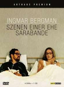 Szenen einer Ehe (Special Edition) + Sarabande, 5 DVDs