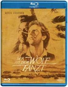 Der mit dem Wolf tanzt (Kino-Langfassung) (Blu-ray), Blu-ray Disc